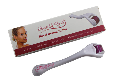 Derma Roller 1.0 mm and 20% Vitamin C Serum - FREE Shipping