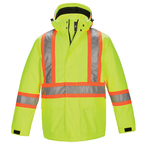 High Vis Insulated Parka
