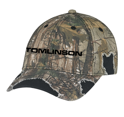 RealTree Distressed Camo Hat