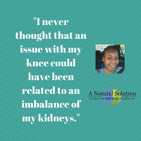 My Achy Knees was a Kidney Imbalance