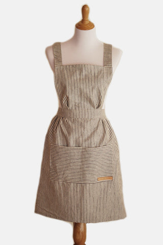 Hovden Full Apron - Indigo (Will be back when kids are back in school)