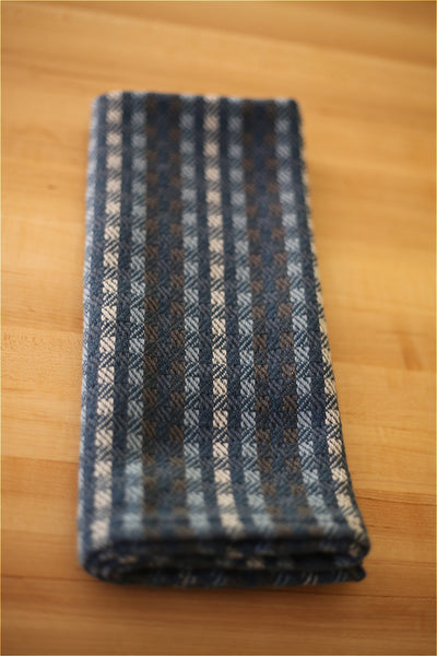 Handwoven Kitchen Towel - Squares SOLD OUT