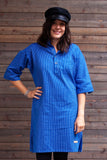 Blue Solberg Cotton Tunic