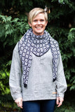 Wool Shawl - Black