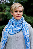 Wool Shawl - Blue (pre-order. Ships early January)