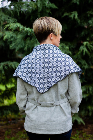 Wool Shawl - Dark Grey PRE-ORDER