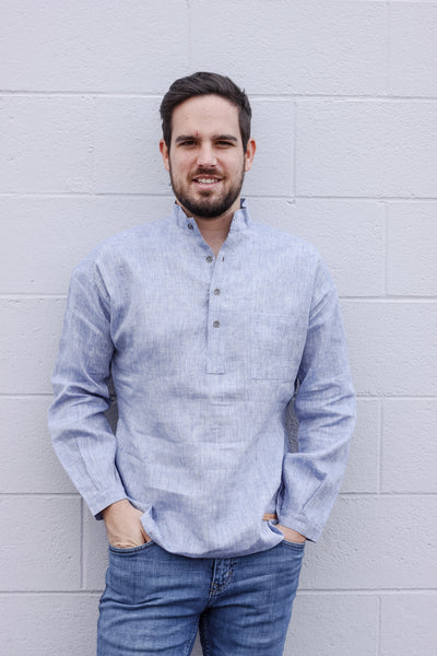 Chambray - Linen Shirt (XS & S left)