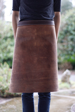 Leather Waist Apron - Square