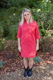 Red Solberg Cotton Tunic