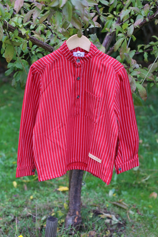 Solberg Red Kids Shirt