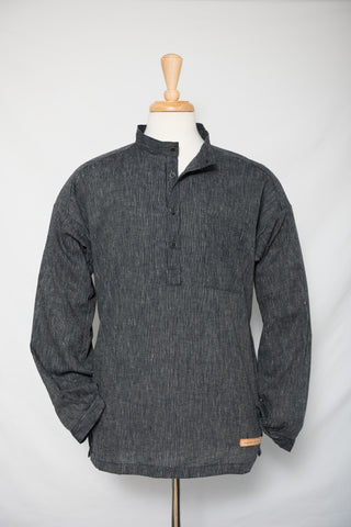 Dark Hemp/Organic - cotton shirt