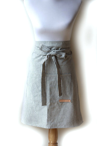Hovden Waist Apron - Indigo (Will be back when kids are back in school)