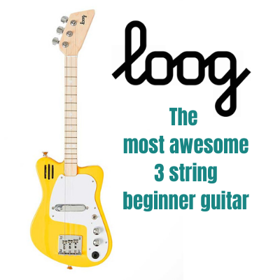 Loog Guitars, Too cool for school.