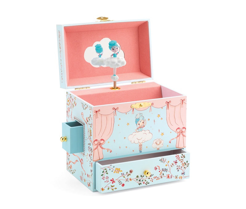 Ballerina on stage musical treasure box