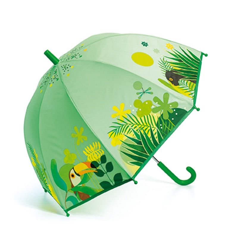 Djeco Tropical Jungle PVC umbrella