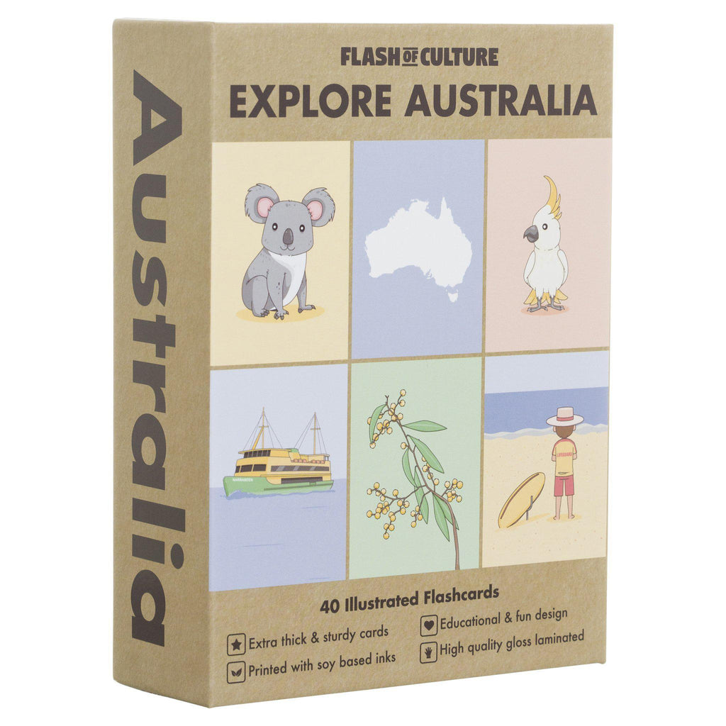FLASH OF CULTURE FLASH CARDS- AUSTRALIA