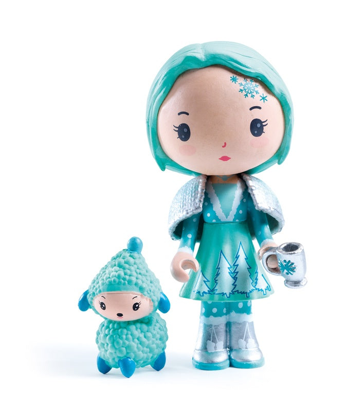 Djeco Cristale and Frizz Tinyly figurines