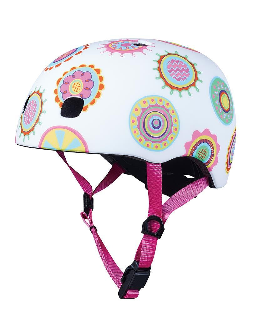 Micro Scooter Doodle Dots child helmet