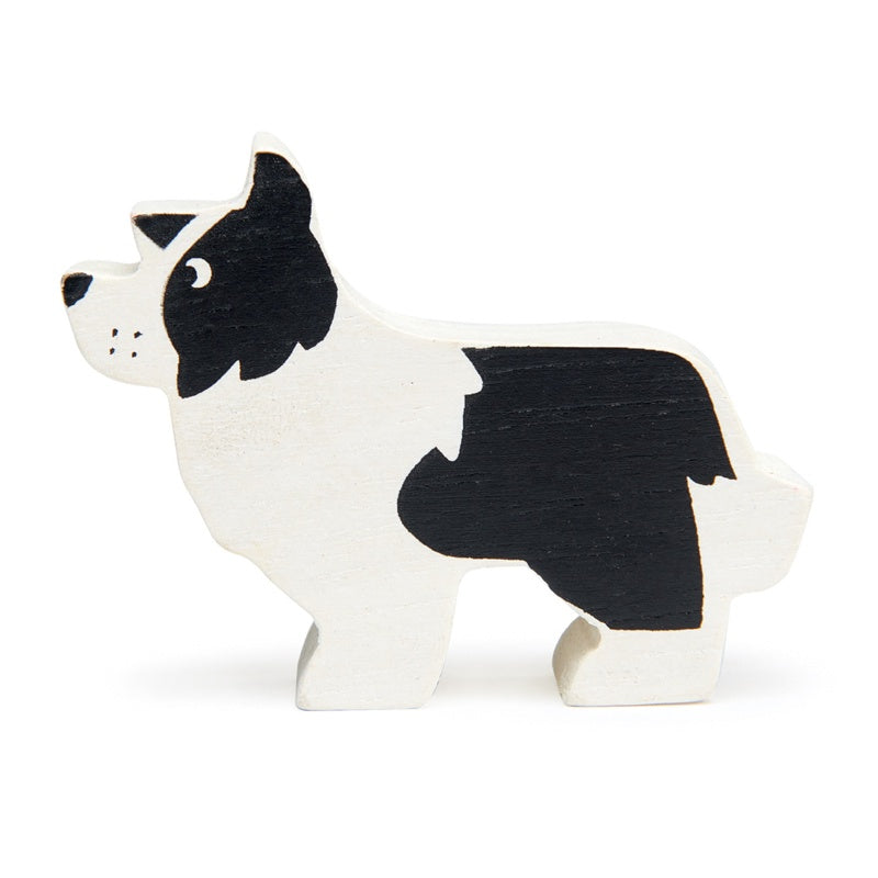 Wooden Toy English Shepherd Dog
