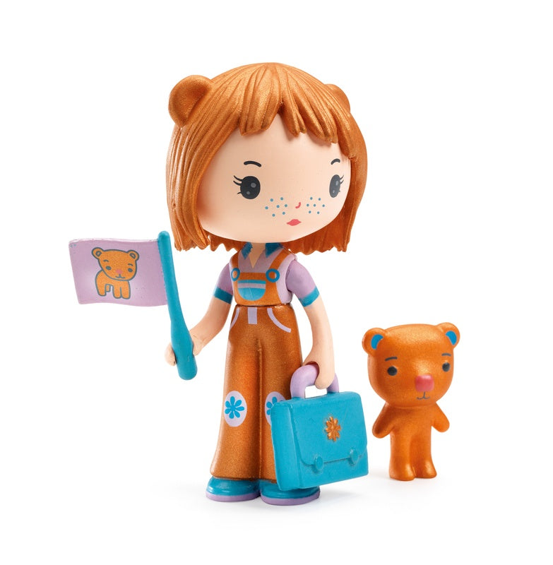 Djeco Anouk and Nours Tinyly figurines