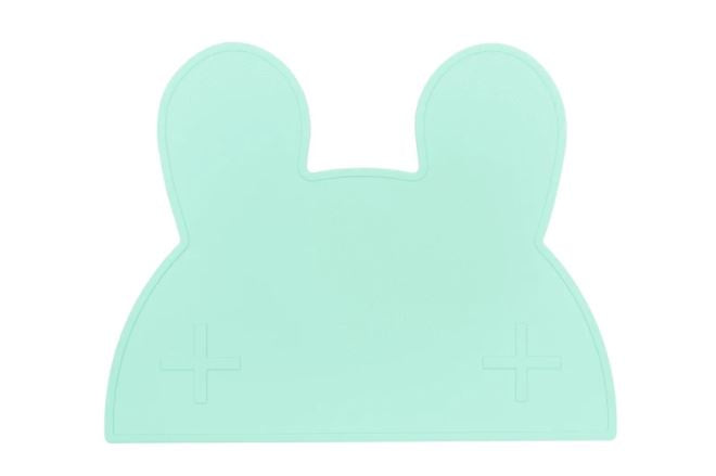 We Might Be Tiny Minty Green Bunny Placie