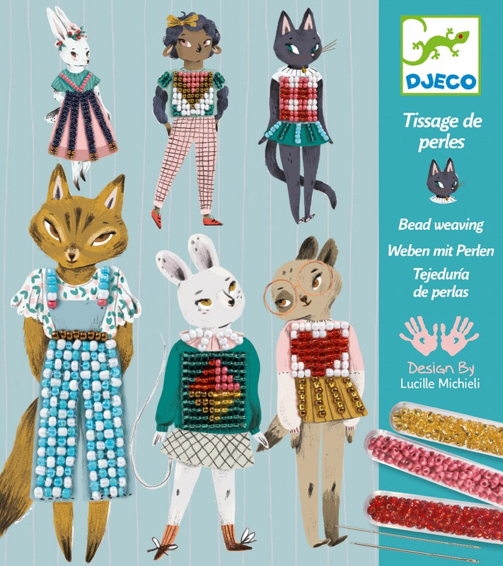 Djeco Bead Weaving Craft Kit
