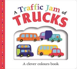 A TRAFFIC JAM OF TRUCKS - LGE BOARDBOOK