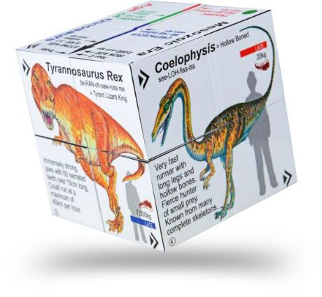 Zoobookoo Cube Book of Dinosaurs