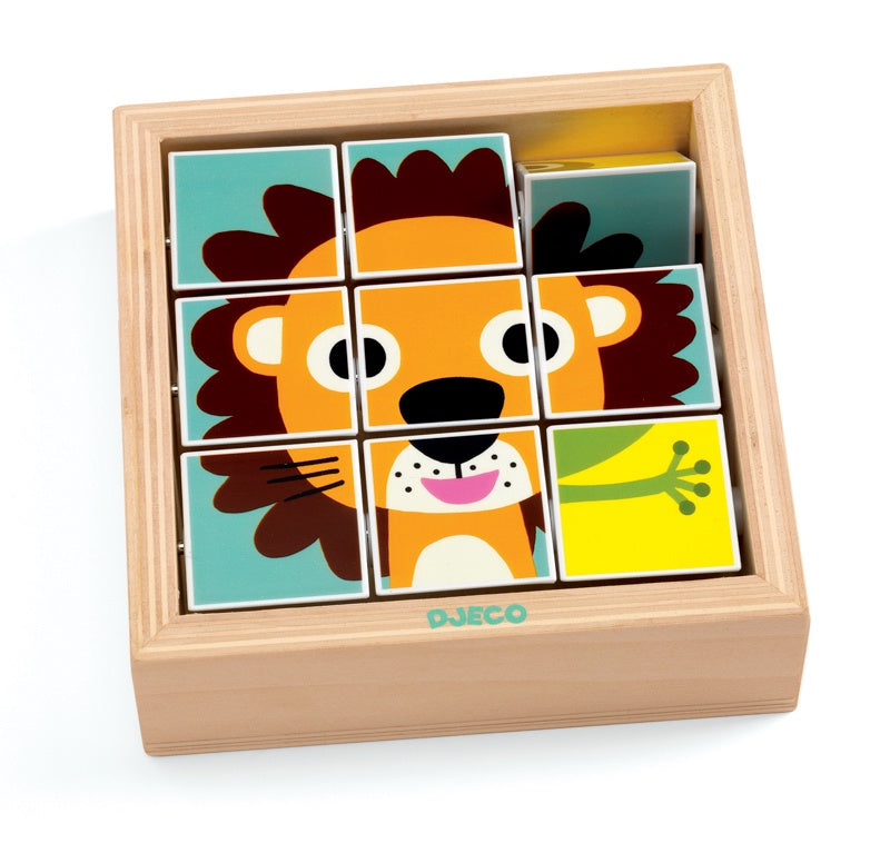 Djeco Tournanimo Puzzle for toddlers