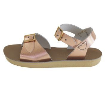SALT WATER SANDALS SUN-SAN SURFERS IN ROSE GOLD