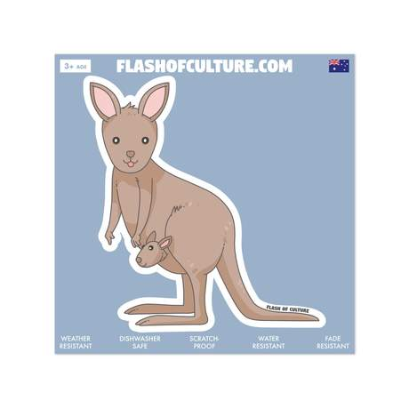 Flash of Culture Australian Native Stickers