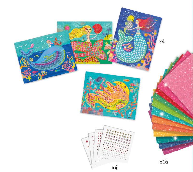 DJECO - THE MERMAID'S SONG MOSAIC KIT