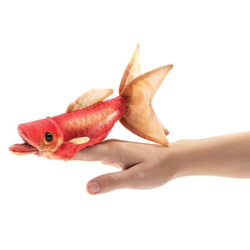 Folkmanis Mini Goldfish Finger Puppet