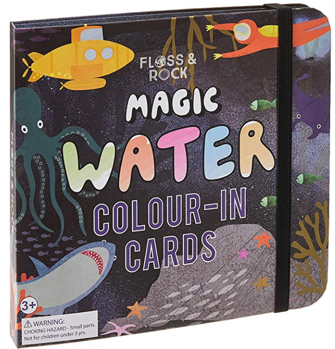 MAGIC WATER COLOUR-IN CARDS UNDER THE SEA