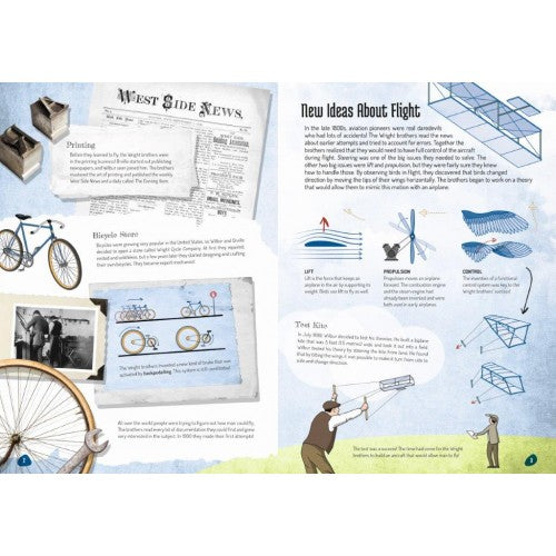 SASSI - THE WRIGHT BROTHERS 3D MODEL AND BOOK