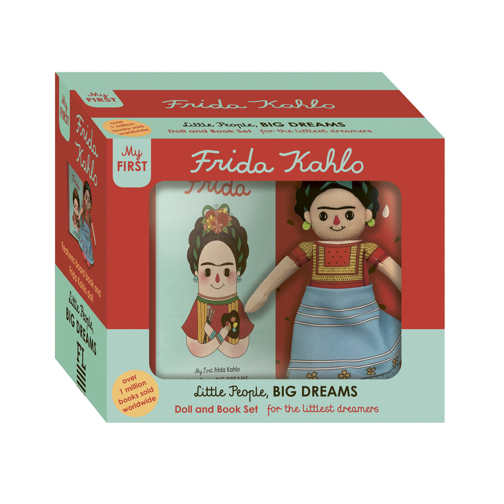FRIDA KAHLO DOLL AND BOOK: FOR THE LITTLEST DREAMERS