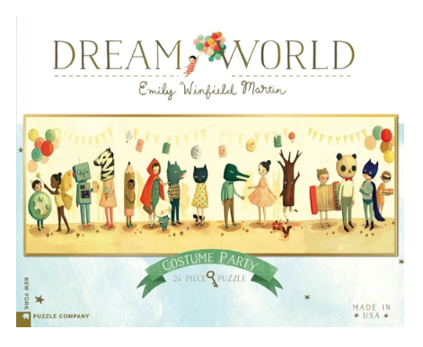 DREAM WORLD PUZZLES - COSTUME PARTY