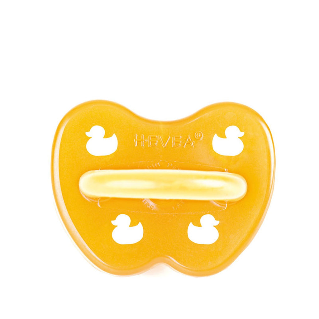 NATURAL RUBBER PACIFIER/DUCK