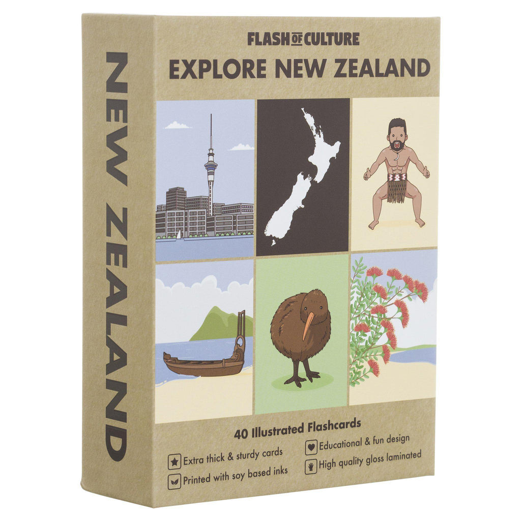 FLASH OF CULTURE- FLASH CARDS- NEW ZEALAND
