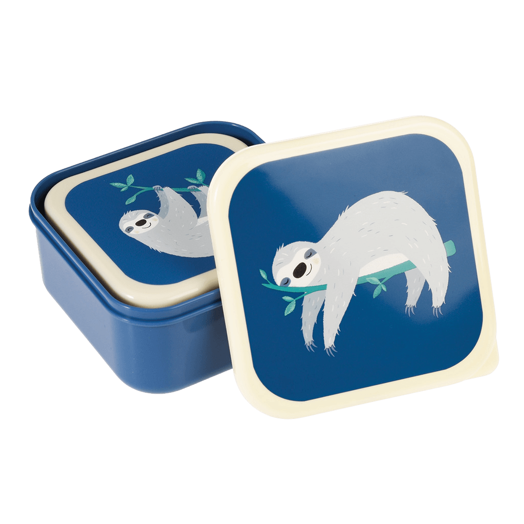 Sydney The Sloth Snack Box set of 3