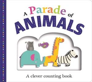 A PARADE OF ANIMALS - LGE BOARDBOOK