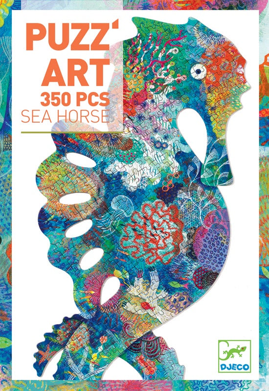 DJECO - SEA HORSE PUZZ'ART
