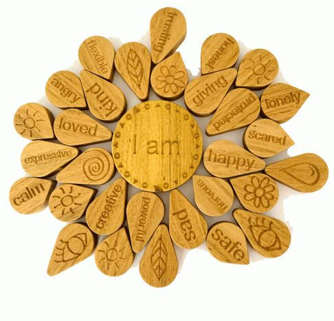 IN WOOD - I AM MANDALA PUZZLE
