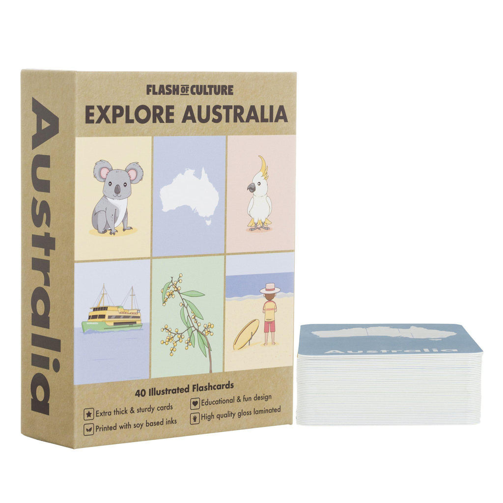 Flash of Culture Australia Flash Cards