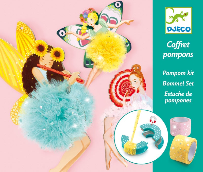 DJECO - FAIRY POMPOMS KIT