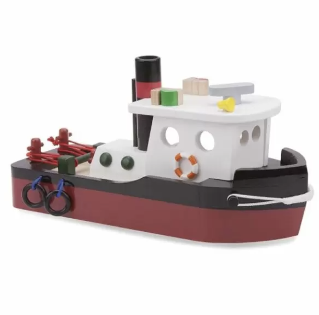 New Classic Toys Timber Tugboat