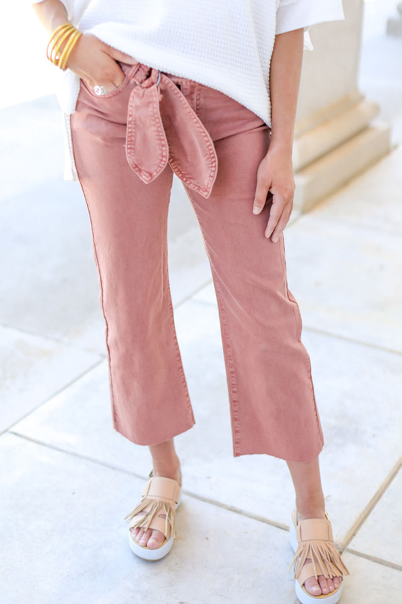 The Paige Crop Pant