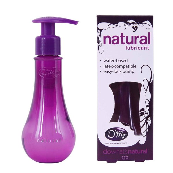 O'My Natural Lubricant 4oz/120ml
