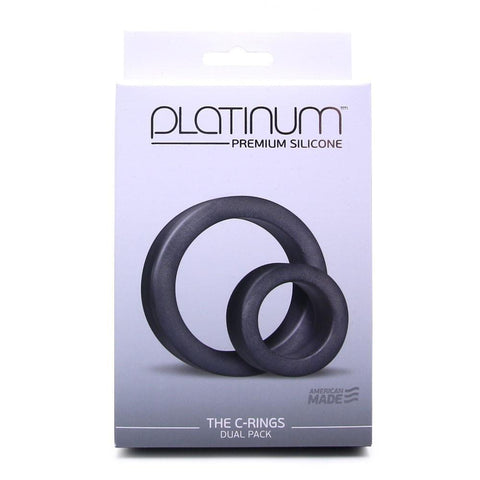 Doc Johnson Platinum Double Cock Ring -  - Doc Johnson - My Bedroom Spice - 6