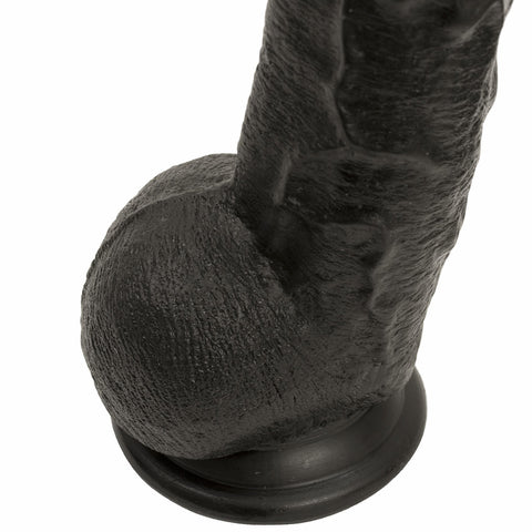 Dick Rambone Black Realistic Large Cock -  - Doc Johnson - My Bedroom Spice - 5